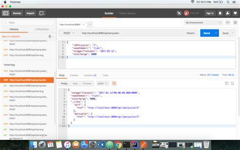 membuat web service json membuat restful web service dengan framework spring boot