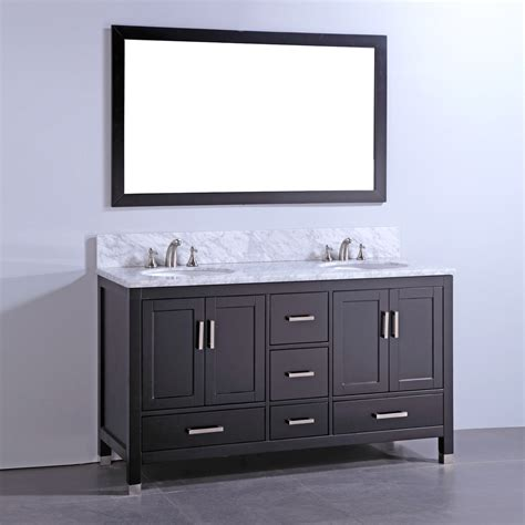Solid Wood Bathroom Vanity Legion Furniture Wa6160 60 In Solid Wood Bathroom