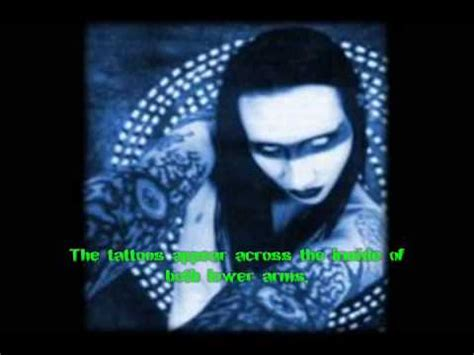 tattoo history youtube marilyn manson s tattoo history youtube