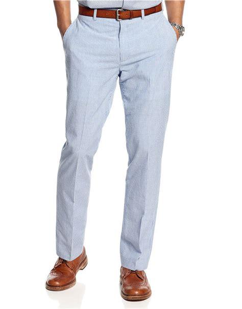 light blue slacks mens light blue seersucker dress pants tallia orange pants