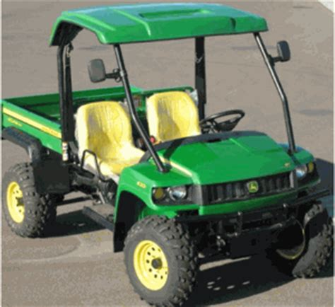 john deere gator xuv and hpx windshields | tops