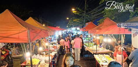 bang lan night market  ayutthaya thailand  bug