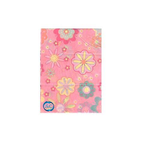 papel decorado papel seda decorado con flores fondo rosa