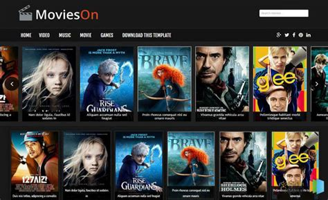 Blogger Film | top 10 movie templates for blogger 2016