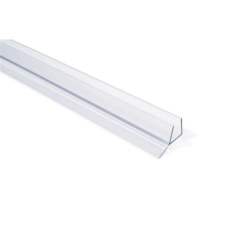 Frameless Shower Door Seal by Frameless Shower Door Seal With Wipe For 1 2 Quot Glass In
