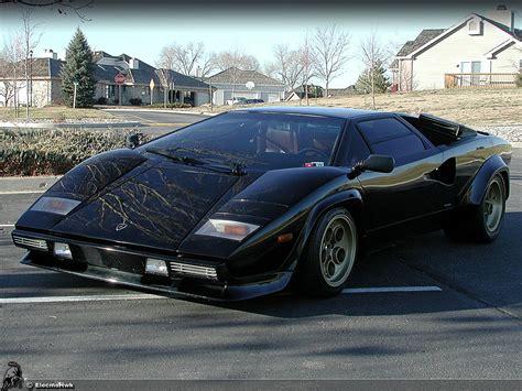 Lamborghini Countach Black Car Picker Black Lamborghini Countach