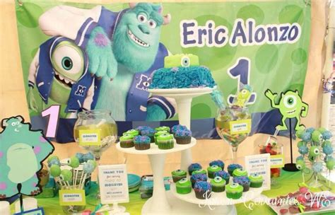9 best images about Monsters University Birthday Party on Pinterest   Monster university