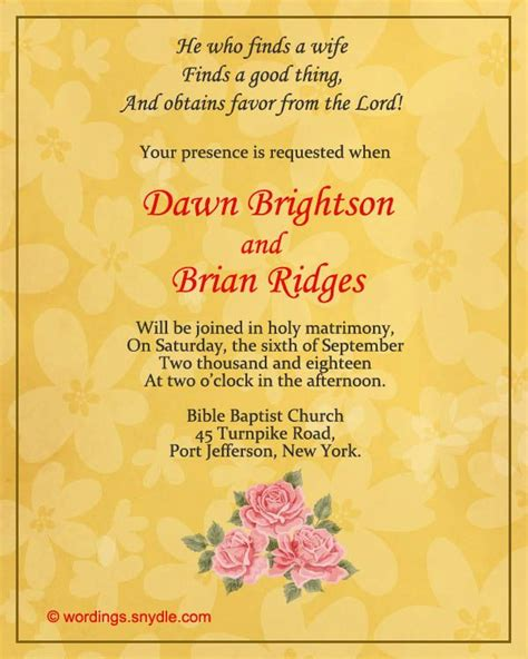 indian wedding invitation text message christian wedding invitation wording sles wordings