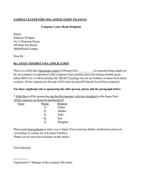 application letter sponsorship studies