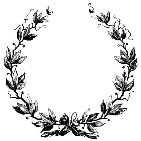 laurel wreath clip art cliparts co