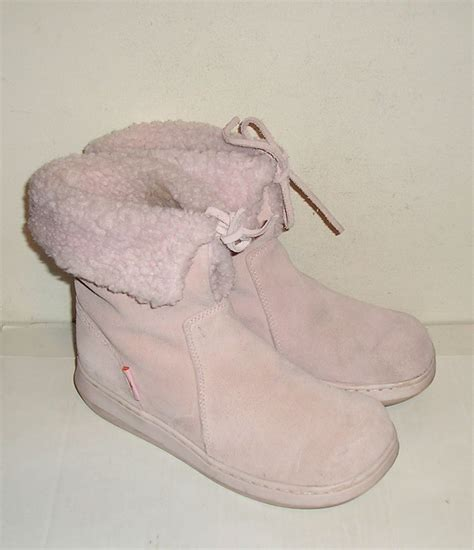 light pink suede boots rocket s light pink suede leather winter boots