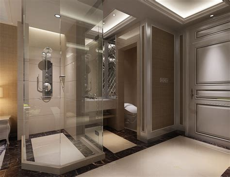 photoreal bathroom 3d model max cgtrader