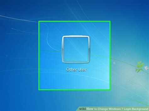 computer user wallpaper how to change windows 7 login background 14 steps with