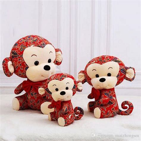 new year monkey plush 2017 2016 new plush new year monkey fashion