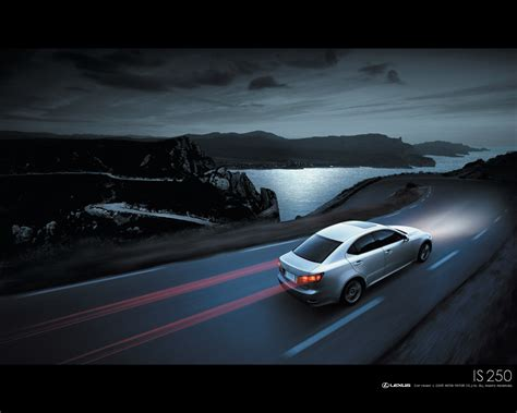 Lexus Is 250 Night Wallpapers Lexus Is 250 Night Stock