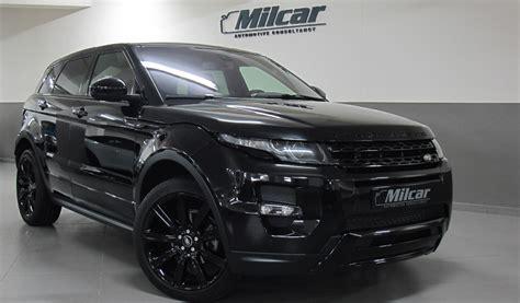 MILCAR ::: Automotive Consultancy » Range Rover Evoque
