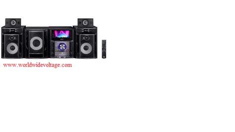 sony mhc gzr999d mini hi fi system region free home