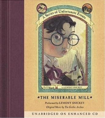 miserable mill audio book by lemony snicket | audiobooks.net