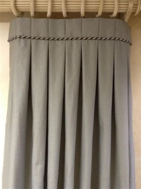 box pleat curtains 30 best curtain headings images on pinterest curtain