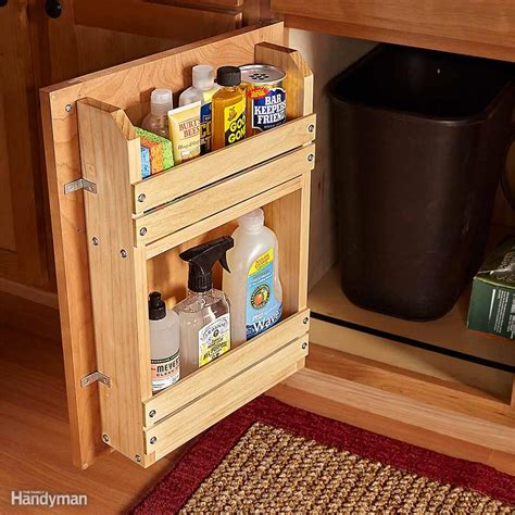 cabinet door storage ideas 18 inspiring inside cabinet door storage ideas the