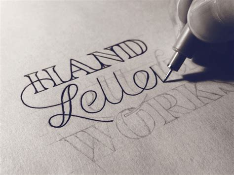 typography tutorial pencil hand lettering for beginners creative market blog