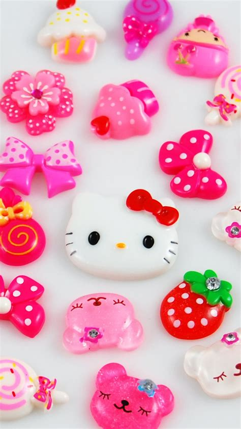 hello kitty home screen wallpaper 45 free hd quality cute iphone wallpapers background