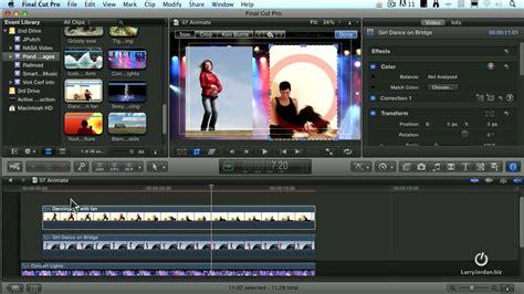 tutorial final cut pro x bahasa indonesia creating pip in final cut pro x doovi