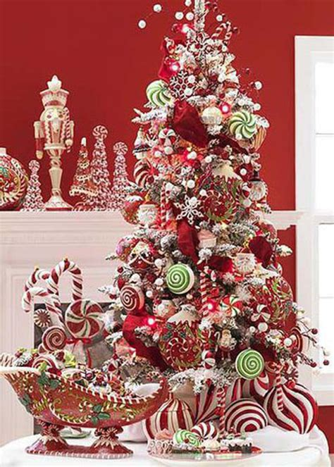 gingerbread themed trees choosing a tree theme style estate