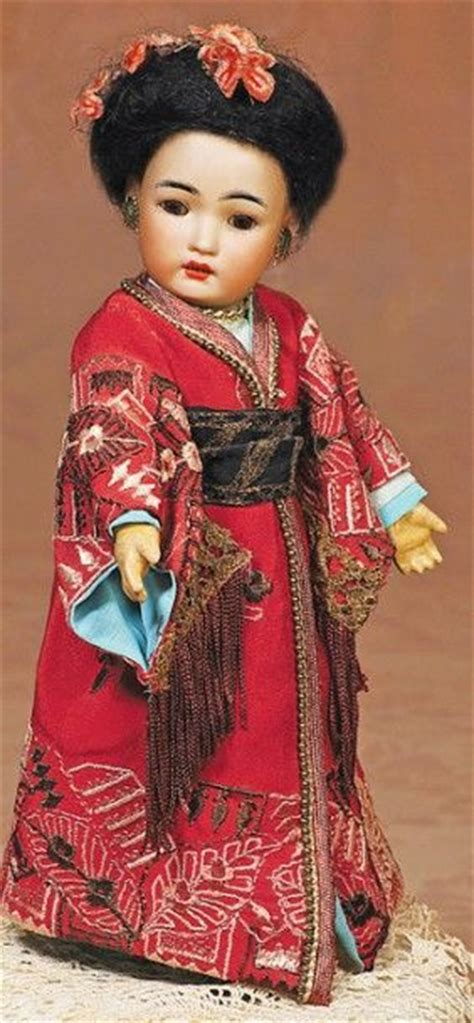 japanese bisque doll marks 169 asian bisque doll by simon halbig lot 169