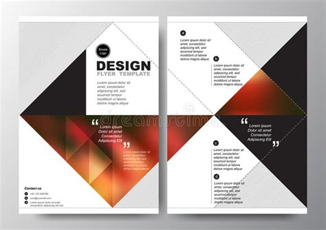 poster design layout download abstract red black triangle background for minimal poster