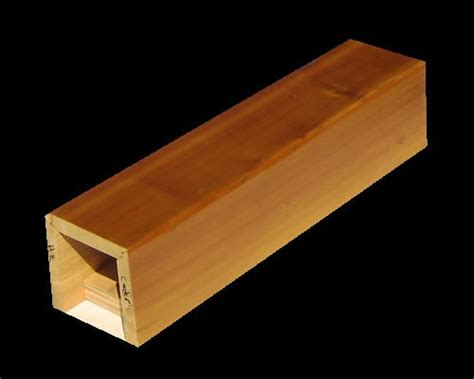 box beam cedar box beams hewn edge woodland beam