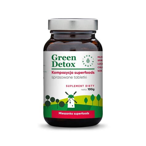 Greenpeace Detox by Green Detox Kompozycja Superfoods Tabletki 100g