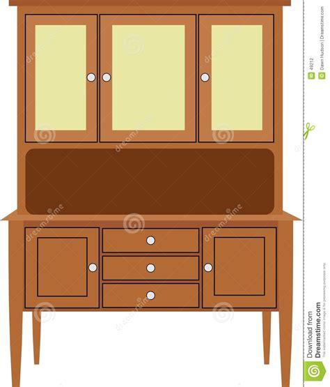 clipart cucina armadio da cucina illustrazione vettoriale illustrazione