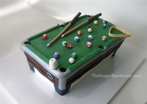 Pool Table Birthday Cake A Photo On Flickriver Pool Table Cake