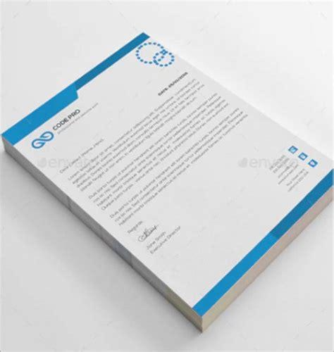 psd letterhead templates premium templates