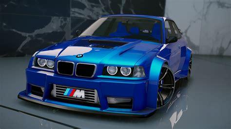 Bmw Mod by Bmw M3 E36 V8 Biturbo Add On Tuning Gta5 Mods
