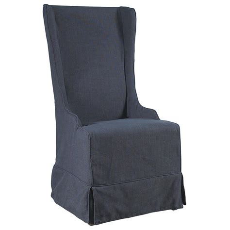gray chair slipcover atlantic beach dining chair charcoal gray linen