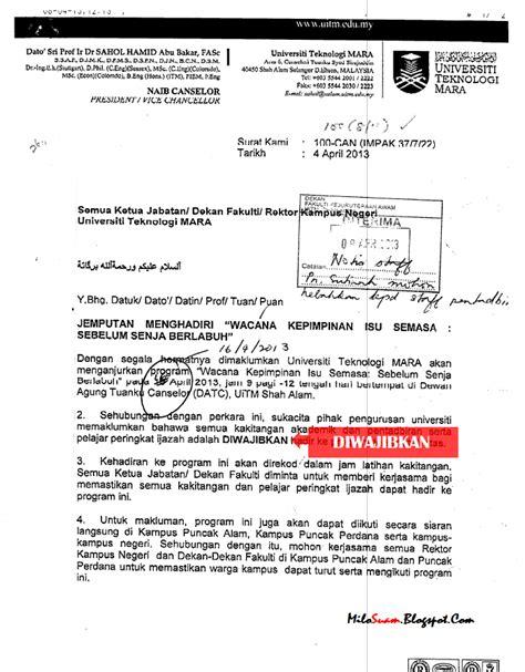 malaysians must the pelajar dan staff uitm dipaksa hadir