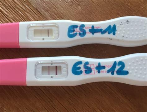 schwangerschaft ab wann testbar positiver test archive wirbel