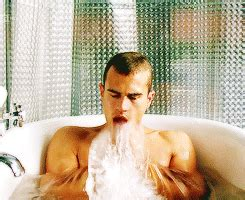 theo james bathtub theo james is shirtless in steamy hugo boss ad obsev