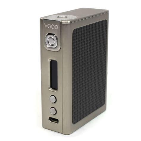 Vgod Box 150 Watt vgod pro 150 tc box mod vapour evolution uk