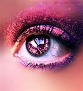 pink eye color beautiful eye eye shadow image 684390 on favim
