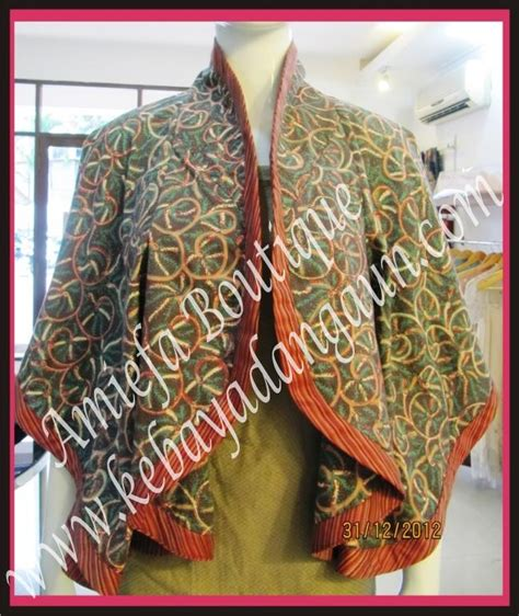 Diaz Batik Blus Bolero Akar amiefa boutique gallery detail