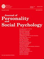 journal  personality  social psychology