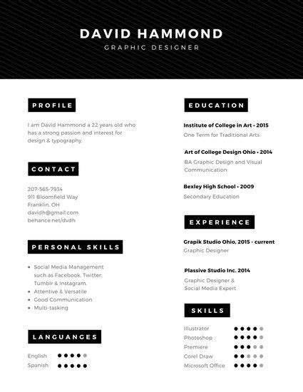 interactive digital media create a professional resume customize 294 professional resume templates canva