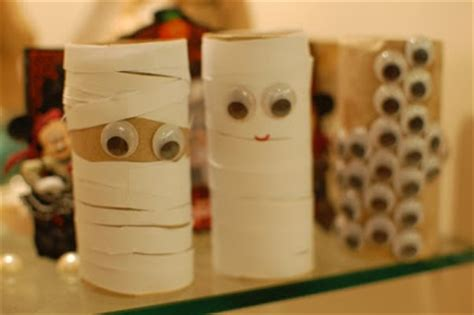 Mummy Toilet Paper Roll Craft - yuinting s igloo toilet paper roll craft