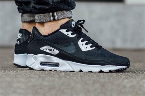 Nike Airmax 90 Black White nike air max 90 ultra essential black white hypebeast