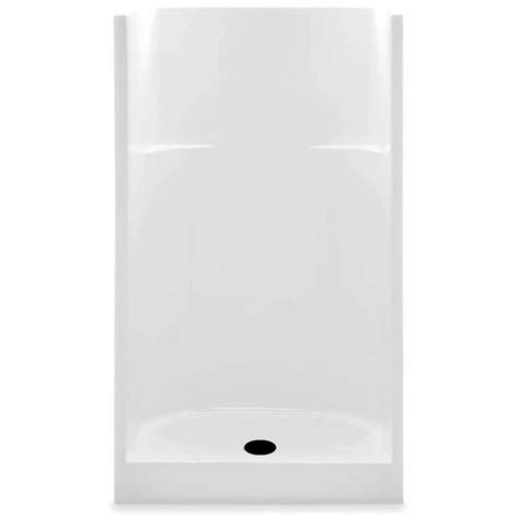 31 Inch Shower Stall Aquatic 36 In X 36 In X 72 In Gelcoat Shower Stall In
