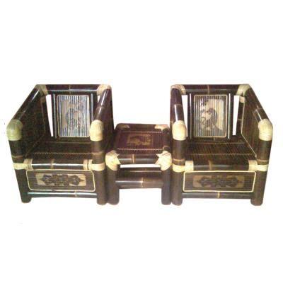jual meja kursi bambu set teras harga murah purworejo oleh toko carang emas