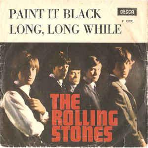 paint it black testo painted black rolling stones